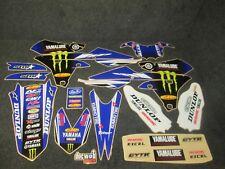 Yamaha YZF250 YZF450 2014-2017 Star Racing USA Team graphics + plastics GR1633