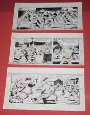 tavola originale FRANCESCO GAMBA piccolo ranger 3 striscie- 91-92-93- lavezzolo