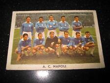 Figurina IL CALCIO ITALIANO TAVERMATIC 1962/63  SQUADRA  Napoli   Taver Matic