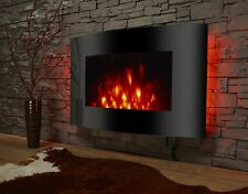Elektrokamin El Fuego LED 2 Heizstufen 220V Fernbedienung Wohnzimmer Feuer Kamin