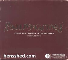 PAUL McCARTNEY *CHAOS AND CREATION IN THE BACKYARD* 2005 SPECIAL ED. CD & DVD