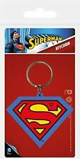 Official DC Comics - SUPERMAN - Keyring Keychain Logo Party Bag Favours