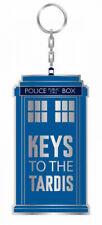 Doctor Who - TARDIS Keyring