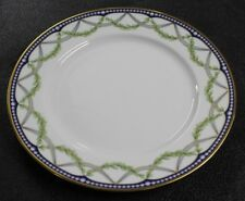 2000 Tiffany & Company France China FEDERAL Pattern Dinner Plate MINT