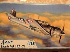 Azur Bloch MB 152. C1; 1/72 scale; 2000; #017 PLAIN BOX WITH NO BOX ART!