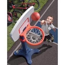 Kids Basketball Hoop Indoor Practice Play Sports Toddler Preschool Backboard