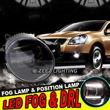 High Power LED Projector Fog Driving Lamp DRL Daytime Running Light For Nissan