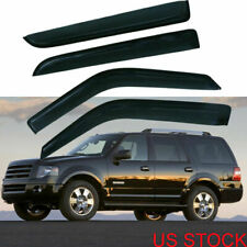 Window Visor Rain Vent Deflector for Ford Expedition 1997-2017 Lincoln Navigator