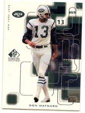 Don Maynard 1999 Upper Deck SP Signature Edition #145 New York Jets