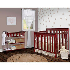 Dream On Me Ashton Convertible 5-in-1 Crib, Cherry