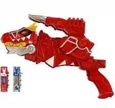 Power Rangers Dino Super charge Deluxe T-Rex Morpher Red Toy gun Chargers