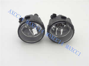 Pair Front bumper Driving Fog Light Lamps For NISSAN TIIDA 2012-2016