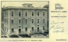 Rome-Institute of S. Carlo Italian for immigrants 1934