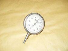 """A.C Ames Co. Reloj/Dial Calibre Métrico lectura 1/100mm - 2"""" - como la foto de la cara"""