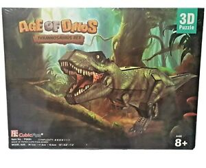 Age Of Dinos 3D Jigsaw Puzzle Tyrannosaurus Rex Cubic Fun Dinosaurs BRAND NEW 1