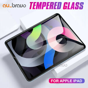 Tempered Glass Screen Protector for Apple iPad 8 7 6 5 4 3 2 Pro Air Mini 4 3 2
