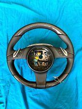 Porsche Cayenne Panamera  SPORT PLUS Black Leather and Carbon Fiber