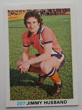 FKS Soccer Stars 1977-1978 NUMBER 207 JIMMY HUSBAND