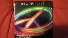 HOUSETRAP & DAVE LAMBERT FEAT LIAM SOUTH - MUSIC FOR PEACE. CD SINGOLO  8 TRACKS