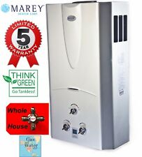 Tankless Water Heater 3.1 GPM (10L) Natural Gas (NG) - Digital Display by Marey
