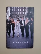 Friends Metal Man Cave Tin Wall Sign NEW Central Perk