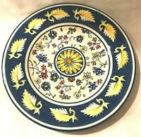 Tabletops Gallery Meredian Pattern Salad Plate Hand Painted 8.5""
