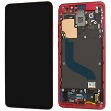 Xiaomi Mi 9T / 9T PRO Display LCD Bildschirm Rot Mit Rahmen   ⫸ Original Ware  ⫷