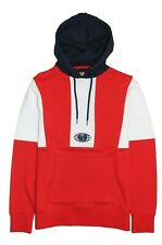 Wu-Tang Chamber Color Blocked Hoodie Red SZ XL New Official Wu-Wear RARE DS