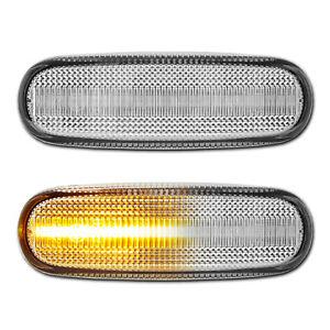 WEISSE dynamische LED Seitenblinker Fiat Panda Grande Punto Evo Abarth Stilo