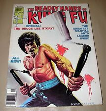 STAN LEE PRESENTS- THE DEADLY HANDS OF KUNG FU - VOL 1 - NO.28 -  SEPT. 1976