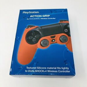 PlayStation Action Grip Fits DUALSHOCK 4 Wireless Controller PS4 Red
