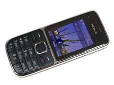 37.8 original Nokia C2-01 Black 3G Network Cell Phone  Unlocked free shipping