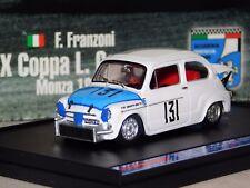 FIAT ABARTH 850 TC #131 FRANZONI MONZA 1965 BRUMM S10/03 1:43