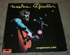 Enregistrement Public Maxime Le Forestier~1974 France Import Chanson~Inner