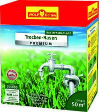 Wolf Garten Trocken-Rasen Premium L-TP50 für 50qm