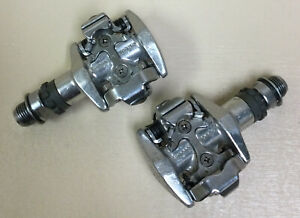 SHIMANO XT CLIPLESS PEDALS SPD M747 NO CLEATS