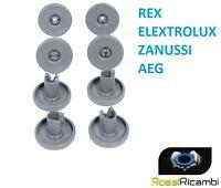 REX ELECTROLUX ZANUSSI AEG 8 RUOTE LAVASTOVIGLIE CESTELLO INFERIORE 50286965004