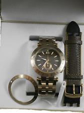 Versace V-race Kaki Dial Men's Watch Bronze VAH060016 Swiss Made 2 Yrs