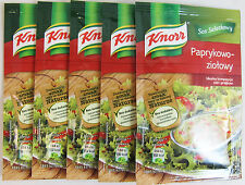 Knorr Paprika & Herbs Salad Dressing  - pack of 5 -Made in Poland