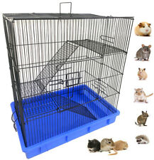 3-Level Guinea Pig Chinchilla Small Animal Rat Mice Hamster Gerbil Critter Cage