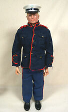 1964 Hasbro GI JOE Action Marine in Dress Uniform - Blonde Painted  Pat. Pending
