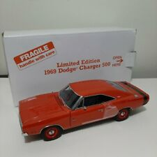 NEW DANBURY MINT 1969 Dodge Charger 500 1:24 Limited Edition