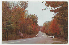 Old Postcard, Scenic Canadian Highway, Silver Valley in Haliburton Highlands
