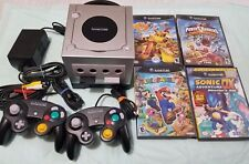 Nintendo GameCube with 4 games with GAME BOY PLAYER