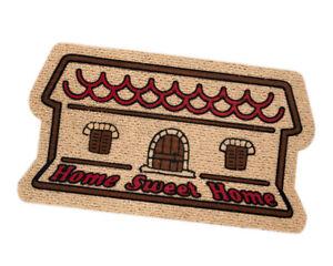 Zerbino rettangolare home sweet home casa antiscivolo assorbente 40x70 tappeto