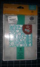 Cuttlebug 5x7 Embossing folder template & Border 1 x 7  - Smitten