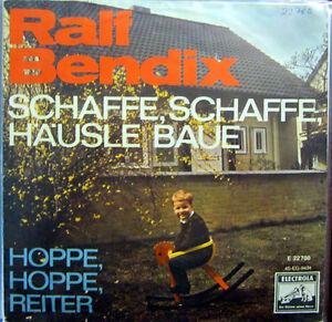 Single / RALF BENDIX / SCHLAGER / 60er / RARITÄT /