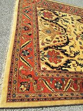 Heriz Bakshaish Design Oriental Rug Hand Woven Indian Hill Rug Dealer'S Estate
