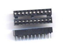 Low Profile 20 pin ic sockets with tin leads - package of 4 pcs