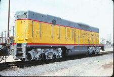 1976 Union Pacific Yard Slug EMD GP9B #S5 - Original 35mm Railroad Slide